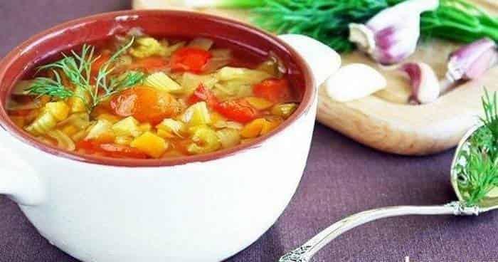 Как готовить сельдереевый суп диета